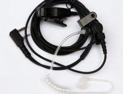 Headset met slangetje airtube en dopje